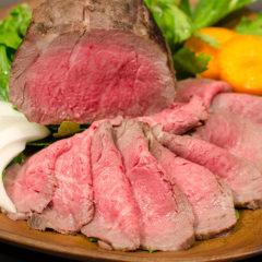 【雪生旬鮮】にいがた和牛 イチボのローストビーフ