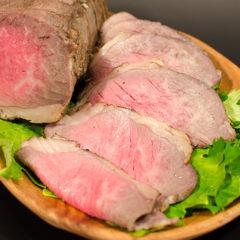 【雪生旬鮮】国産牛 ローストビーフ(特選モモ肉)